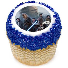 "Star Wars: The Last Jedi Resistance 2"" Edible Cupcake Topper (12 Images)"