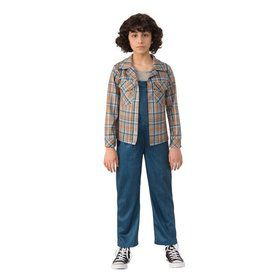 Stranger Things- Girls Eleven's Plaid Shirt