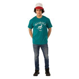 Stranger Things-Mens Dustin's Waupaca Shirt