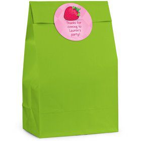 Strawberry Friends Personalized Favor Bag (Set Of 12)