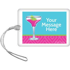 Summer Drinks Personalized Bag Tag (Each)