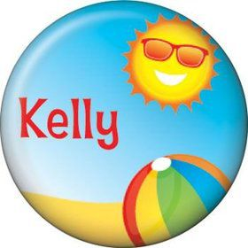 Summer Fun Personalized Mini Magnet (each)