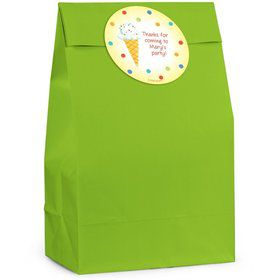 Summer Treats Personalized Favor Bag (Set Of 12)