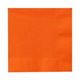 Sunkissed Orange (Orange) Beverage Napkins