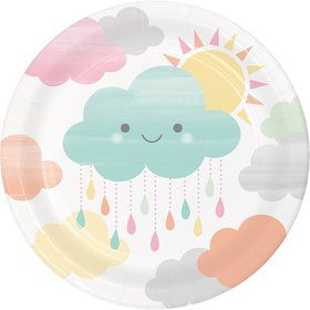 Sunshine Baby Showers Dessert Plate (8)