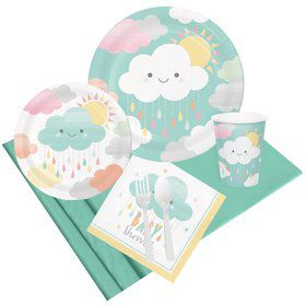 Sunshine Baby Showers Party Pack for 8