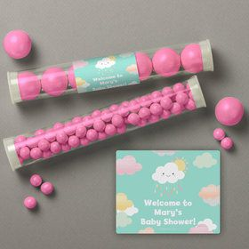 Sunshine Showers Personalized Candy Tubes (12 Count)