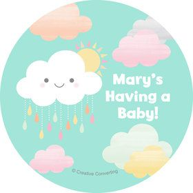 Sunshine Showers Personalized Stickers (Sheet of 12)