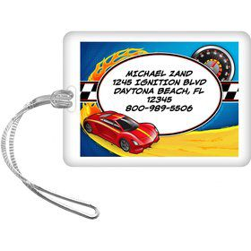 Super Charged Personalized Luggage Tag (Each)