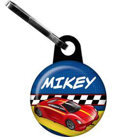 Super Charged Personalized Mini Zipper Pull (Each)