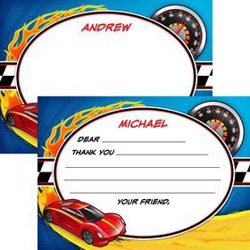 Super Charged Personalized Thank You Note (each)