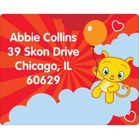 Super Happy Personalized Address Labels (Sheet of 15)
