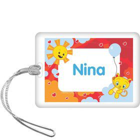 Super Happy Personalized Bag Tag (each)