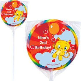 Super Happy Personalized Lollipops (pack of 12)