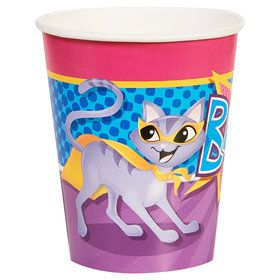 Super Hero Pets 9 oz Paper Cups