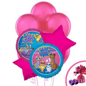Super Hero Pets Balloon Bouquet