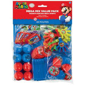 Super Mario Favor Pack (48 Pieces)