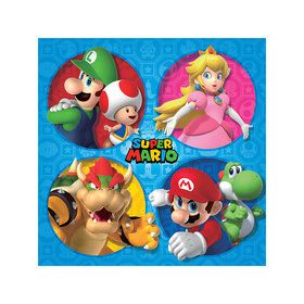 Super Mario Bros. Beverage Napkins (16)