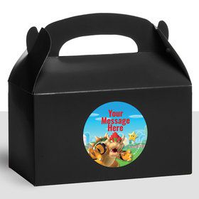 Super Mario Bros. Bowser Personalized Treat Favor Boxes (12 Count)