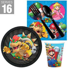Super Mario Bros Bowser Snack Pack for 16