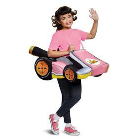 Super Mario Bros. Peach Kart Child Costume