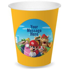 Super Mario Bros. Personalized Cups (8)