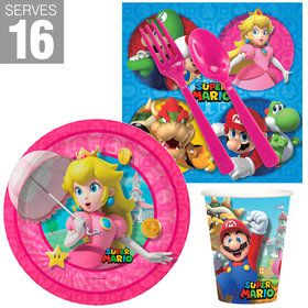 Super Mario Bros Princess Peach Snack Pack for 16