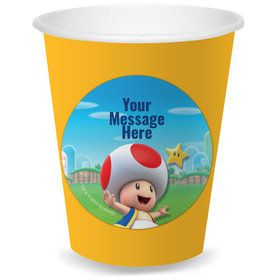 Super Mario Bros. Toad Personalized Cups (8)