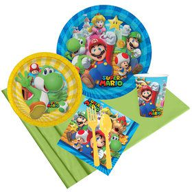 Super Mario Bros Yoshi Party Pack for 8