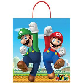 Super Mario Brothers Plastic Loot Bag (1)