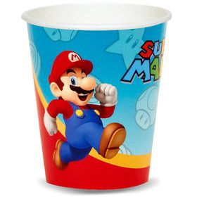 Super Mario Bros Party Supplies Boys Birthday Party Ideas