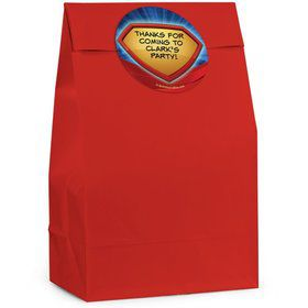 Super Superhero Personalized Favor Bag (Set Of 12)
