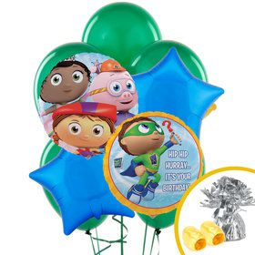 Super Why Balloon Bouquet