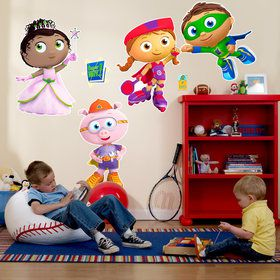 Super Why Giant Wall Decals