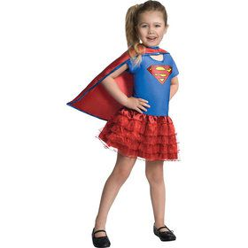 Supergirl Tutu Dress - Small