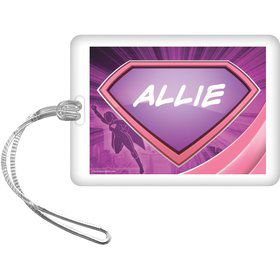 Supergirl Personalized Bag Tag (Each)