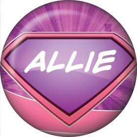 Supergirl Personalized Mini Magnet (Each)