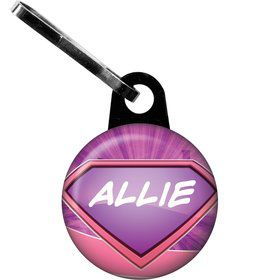 Supergirl Personalized Zipper Pull (Each)
