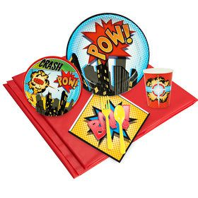 Superhero Deluxe Kit (Serves 8)