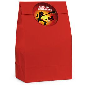 Superhero Family Personalized Favor Bag (12 Pack)