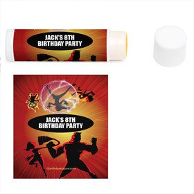 Superhero Family Personalized Lip Balm (12 Pack)