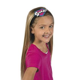 Superhero Girl Headbands (12)
