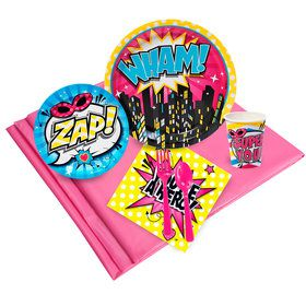 Superhero Girl Party Pack