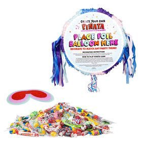 Superhero Girl Pull String Pinata Kit