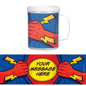 Superhero Party Personalized Favor Mugs (Each)