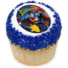 "Superman 2"" Edible Cupcake Topper (12 Images)"