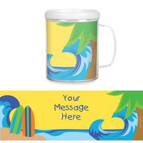 Surfer Dude Personalized Favor Mugs (Each)