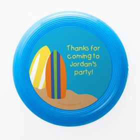 Surfer Dude Personalized Mini Discs (Set of 12)