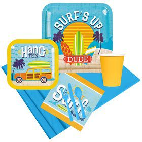 Surfs Up Party Pack for 8
