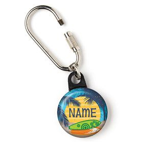 "Surf's Up Personalized 1"" Carabiner (Each)"